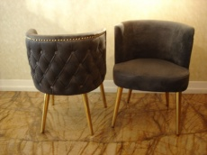Modern Pair of Armchairs