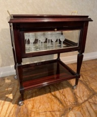 Hungarian Art Deco Bar Cart