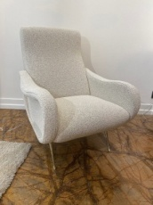 Pair of 'Lady' Armchairs design by Marco Zanuso