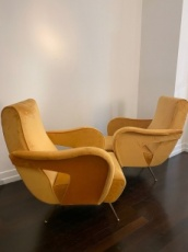 Pair of Mid-Century Armchairs by Nino Zoncada
