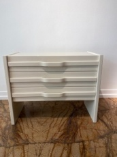 Yvory colour Chest Of Drawers