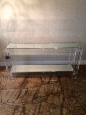 Mirrored Consol Table