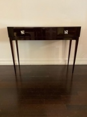 French Art Deco Openable and double top Table