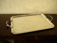 Rectangulare Art Deco Metal Tray