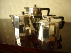 French Art Deco Coffee Set 4 pieces