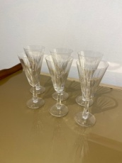 Set of 6 Champagne Flutes