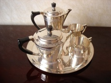 Silver plated Coffee Set by Mappin and Webb