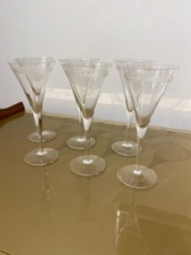 Champagne Glass set of six